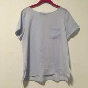 French Connection Blue T-Shirt Top S
